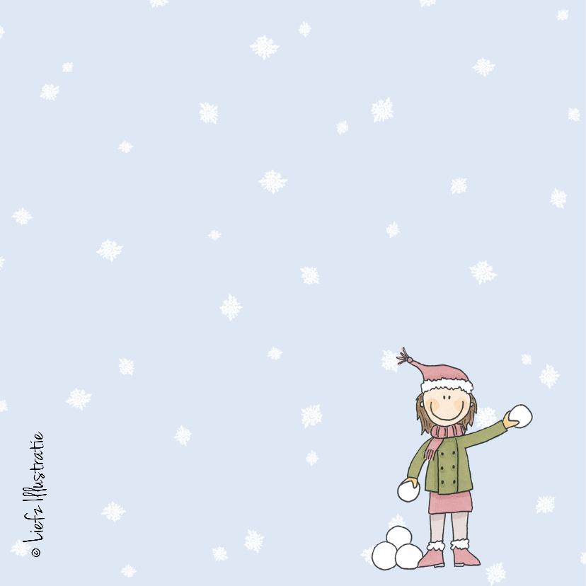 Kerstkaart Sneeuwgevecht LFZ 2