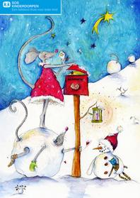 Kerstkaarten - Kerstkaart SOS Kinderdorpen Keanne