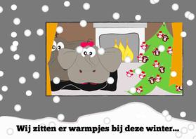 Kerstkaarten - Kerstkaart SOS Kinderdorpen Mo Cards