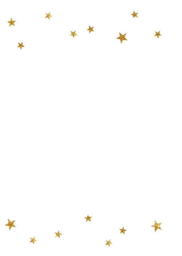 Kerstkaart sterretjes typografie - BC 2