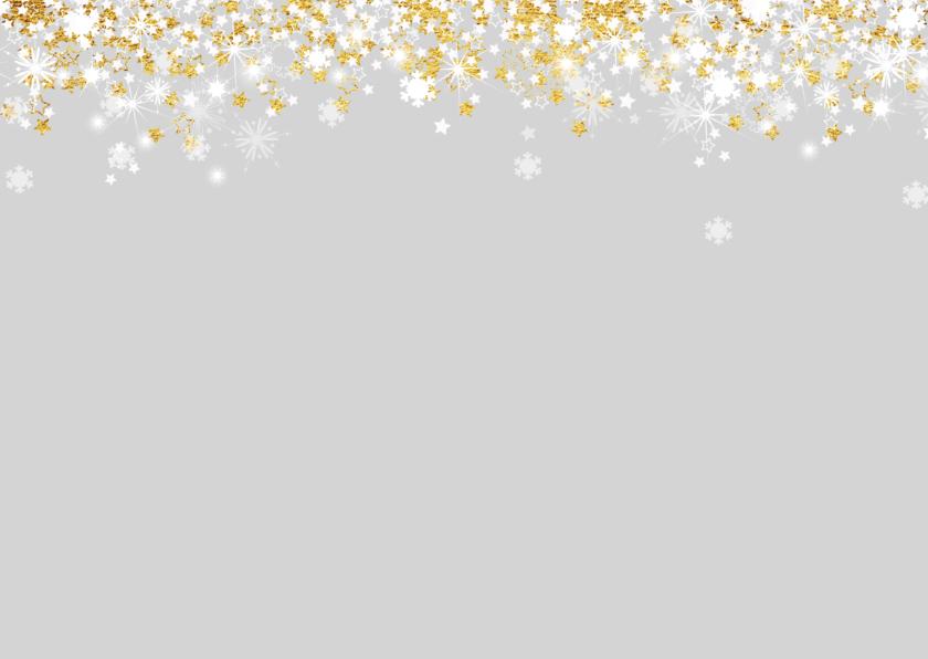 Kerstkaart stijlvol met foto,  sterren en twinkelingen  2