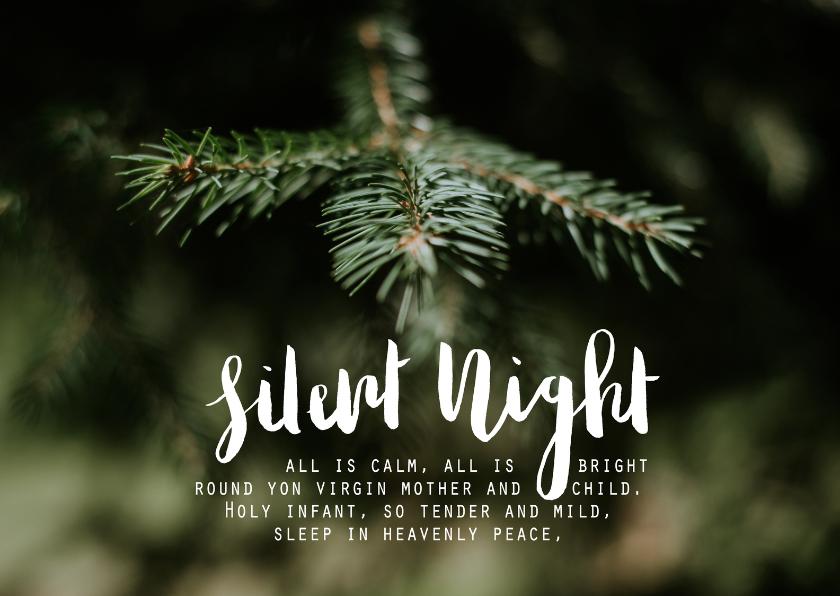 Stille Nacht Tekst