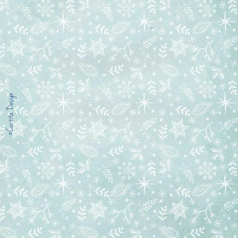 Kerstkaart Stippen Sneeuw 2