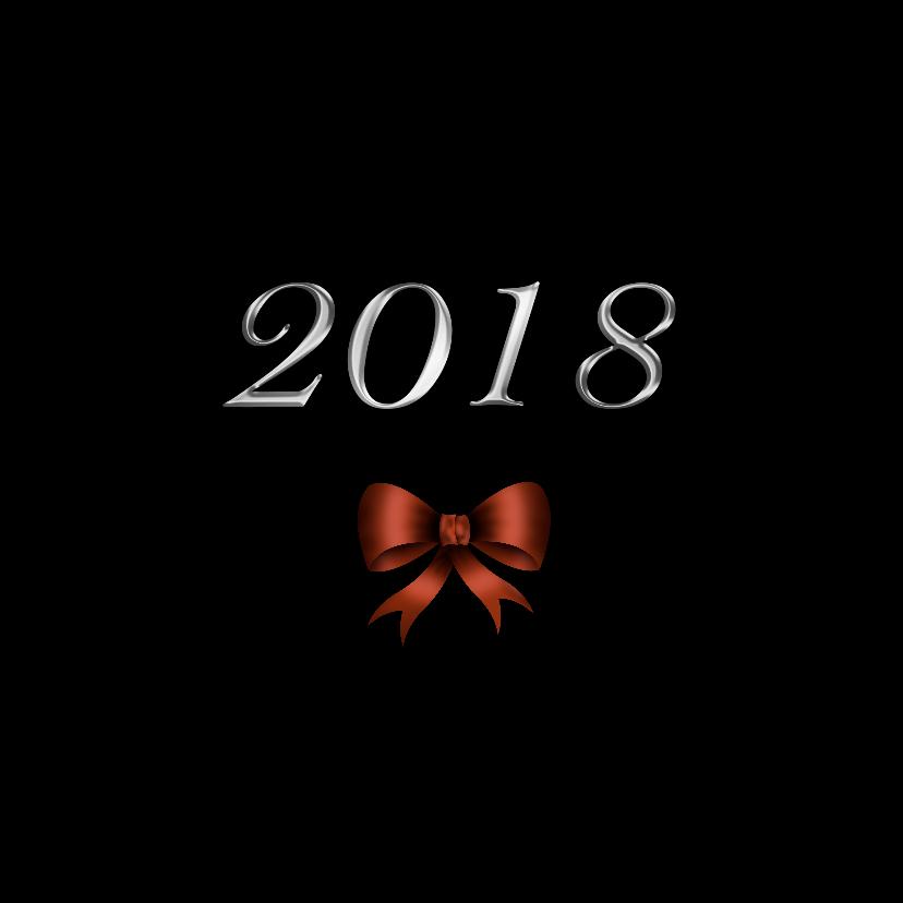 Kerstkaart strik 2018 RB 2