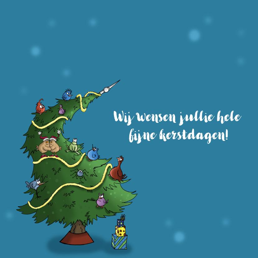 Kerstkaart vogels-JB 2