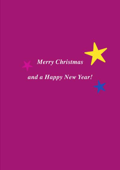 Kerstkaart vrolijke kitsch bal 2  3