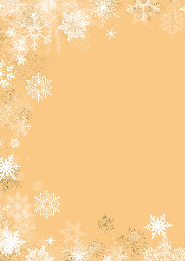 Kerstkaart winterse rand 2