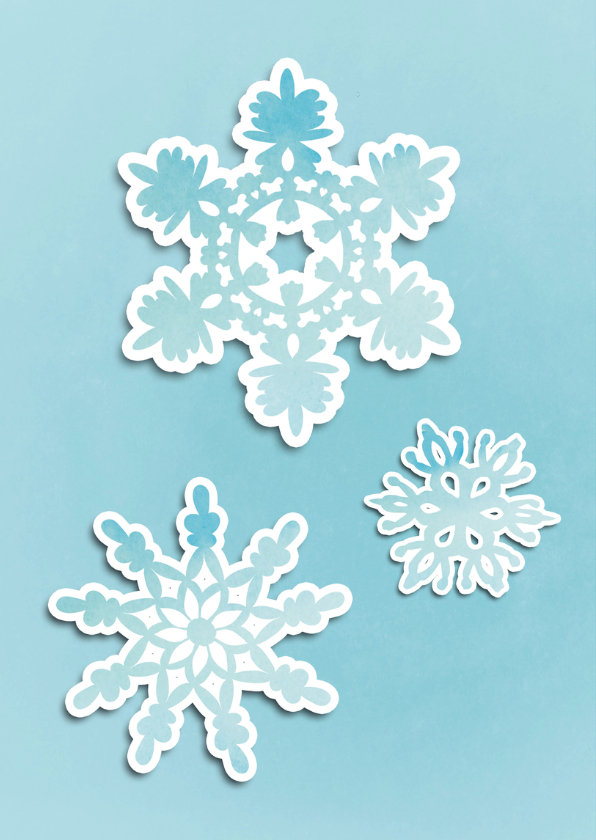 Kerstkaart winterse warmte - SG 2