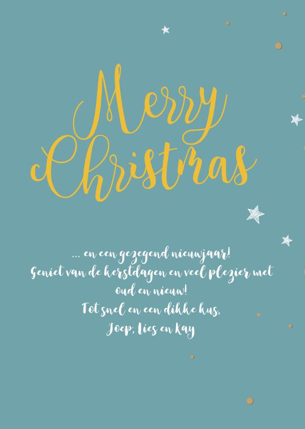 Kerstkaarten christelijk joy to the world 3