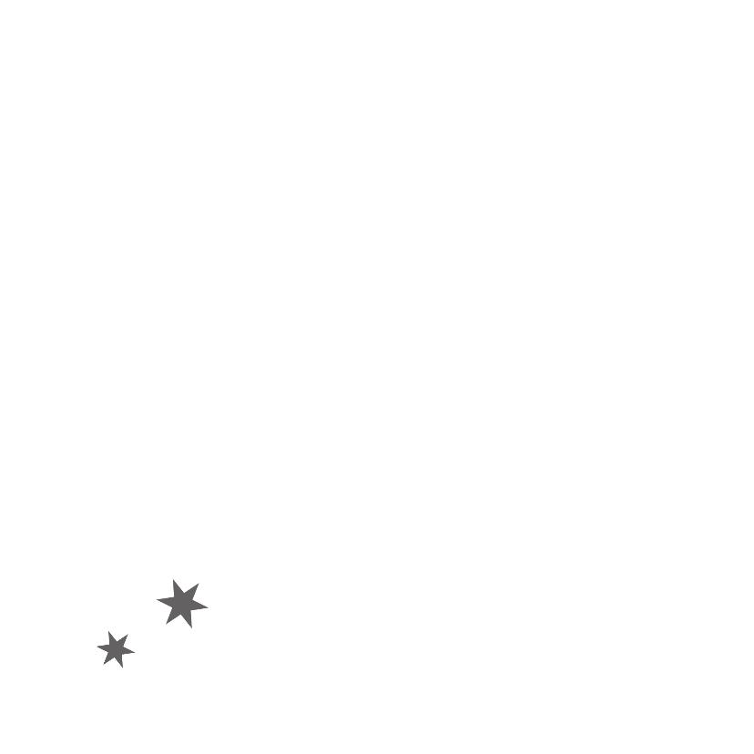 Kerstkaarten Met rand en sterren 2