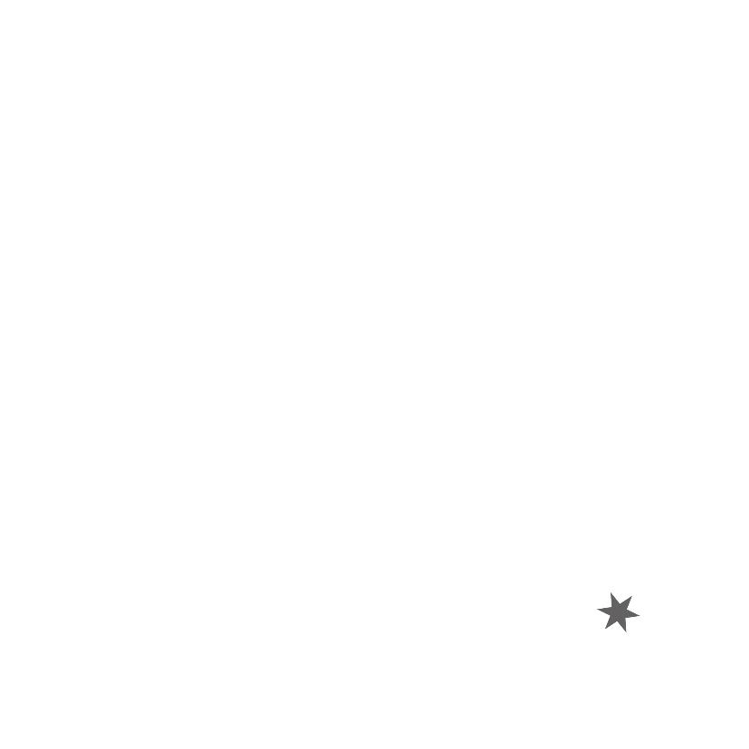 Kerstkaarten Met rand en sterren 3