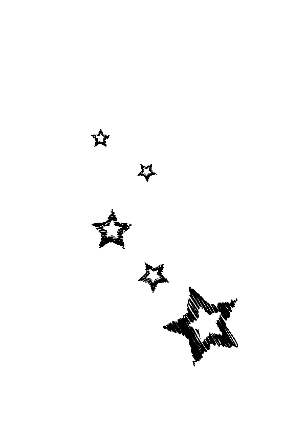 Kerstkaarten ster met foto YO 2