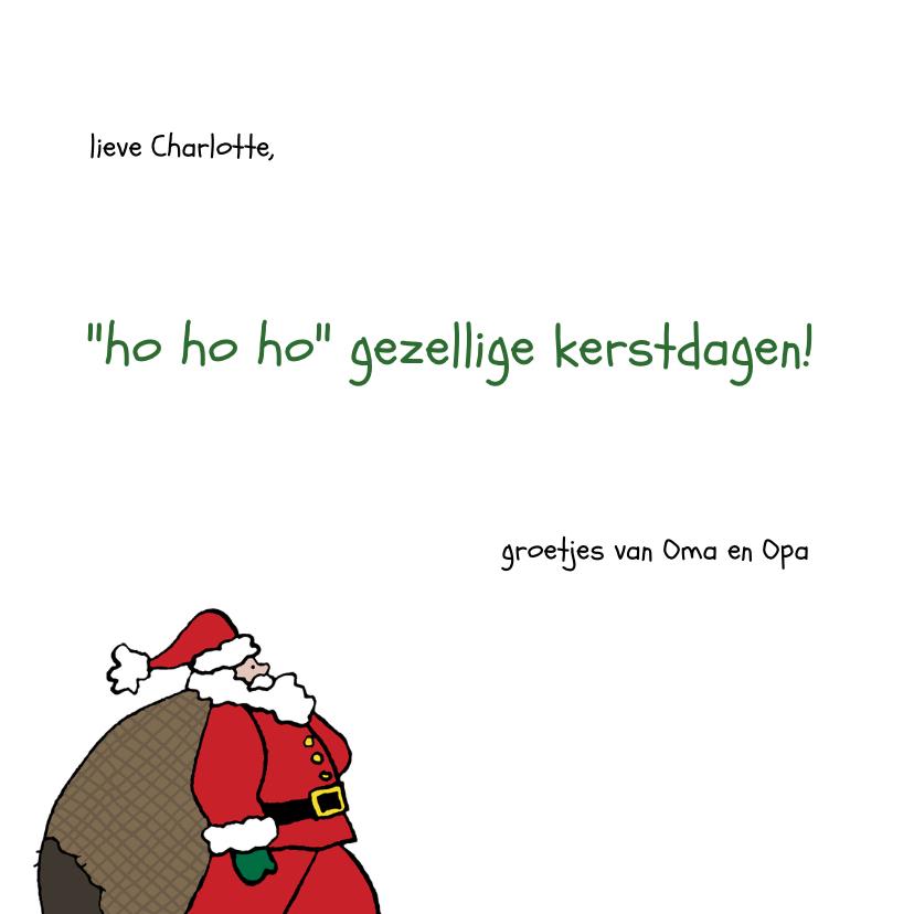 Kerstman met Pakjes 3
