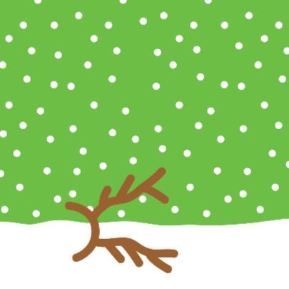 Kerstmis Aapje met Gewei 2