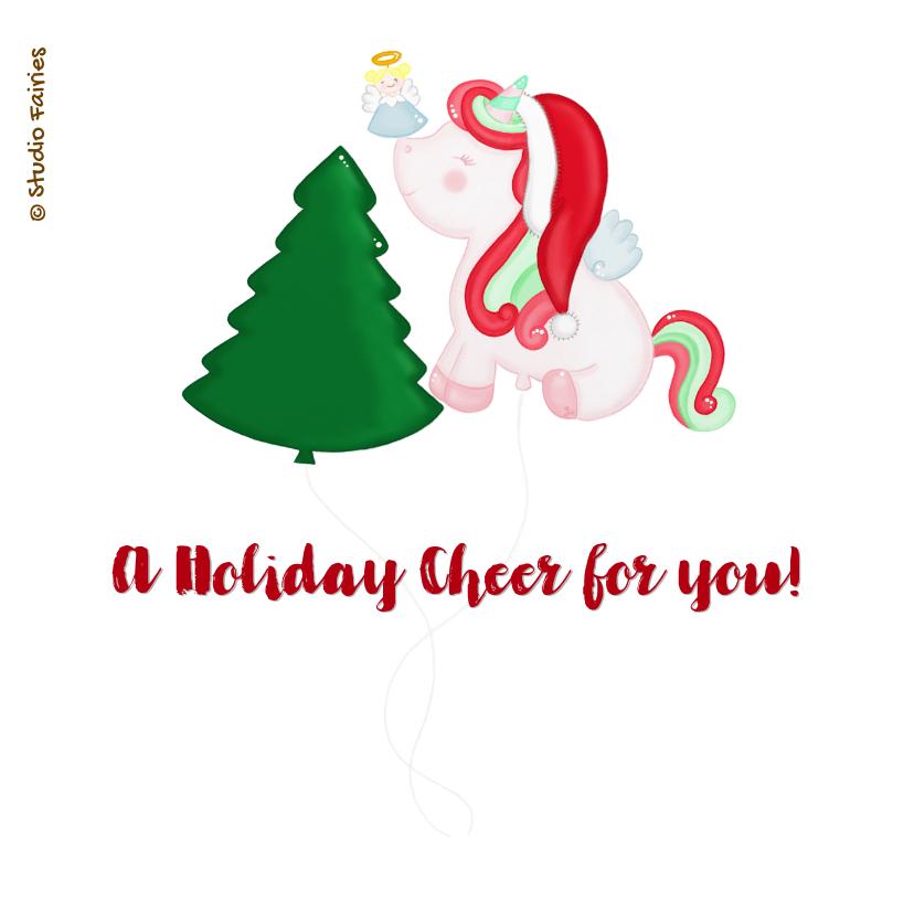 Kerstmis Kerst Unicorn 2