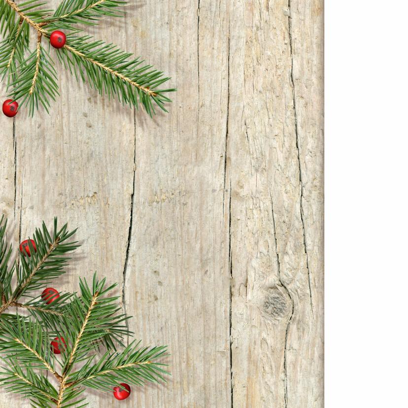 Kerstsfeer logo zakelijk kersttakken 2