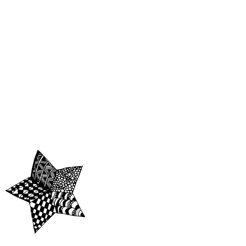 Kerstster Zentangle - DH 2