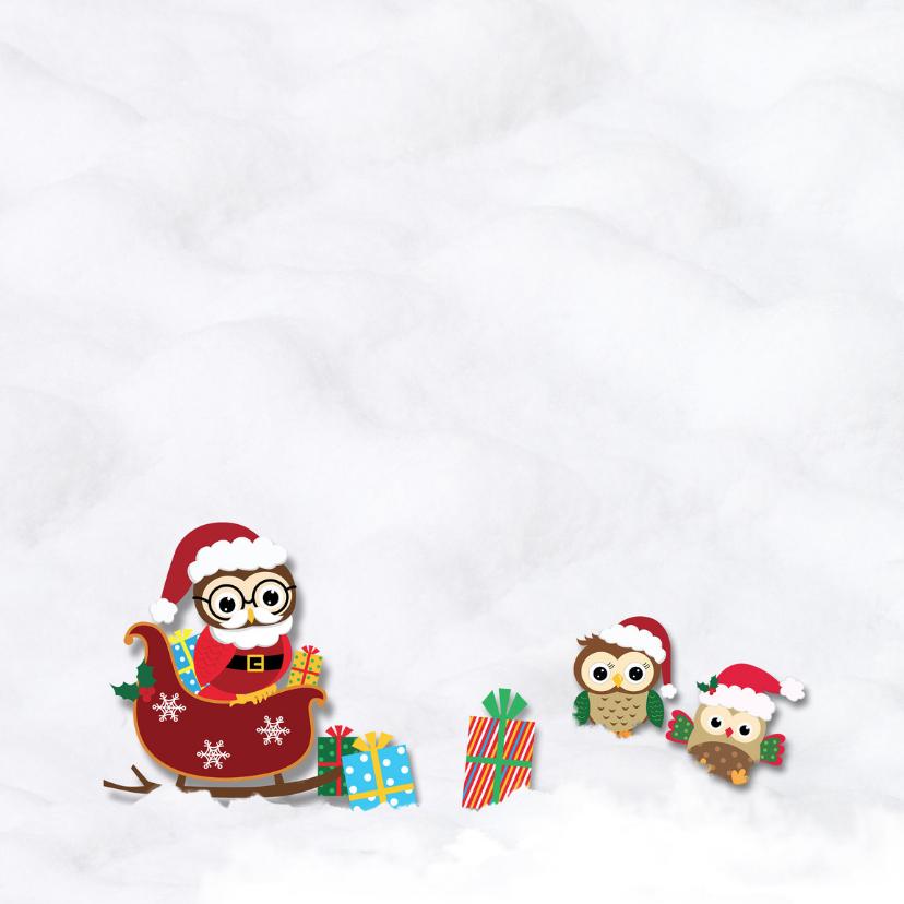 Kerstuitljes in de sneeuw-foto 3