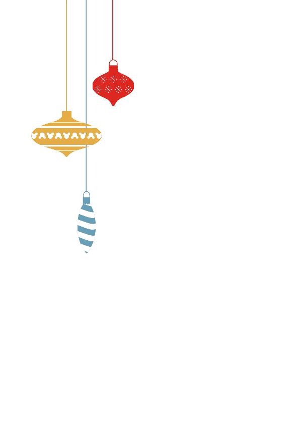 Kerstwens Retro color 2