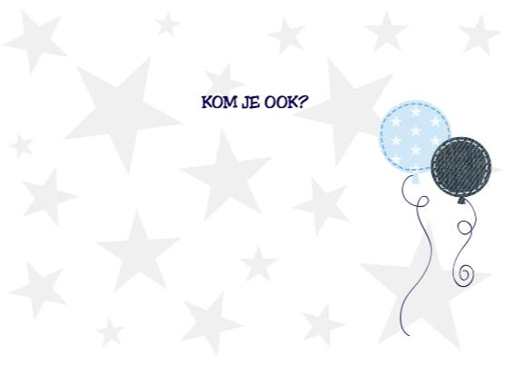 Kinderfeestje dieren blauw 3