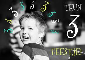 Kinderfeestjes - Kinderfeestje foto kaart