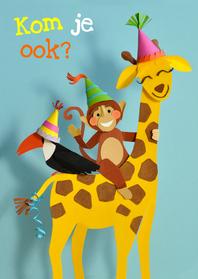 Kinderfeestjes - kinderfeestje giraffe