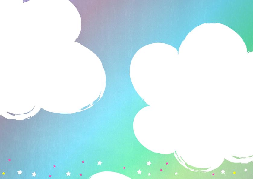kinderfeestje schattige unicorn met ballonnen 2