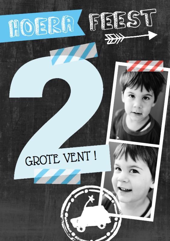 Kinderfeestje uitnodiging foto 39 s 2 jaar kaartje2go for Poppenhuis kind 2 jaar
