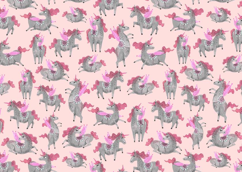 Kinderfeestje unicorn Pegasus paard 2