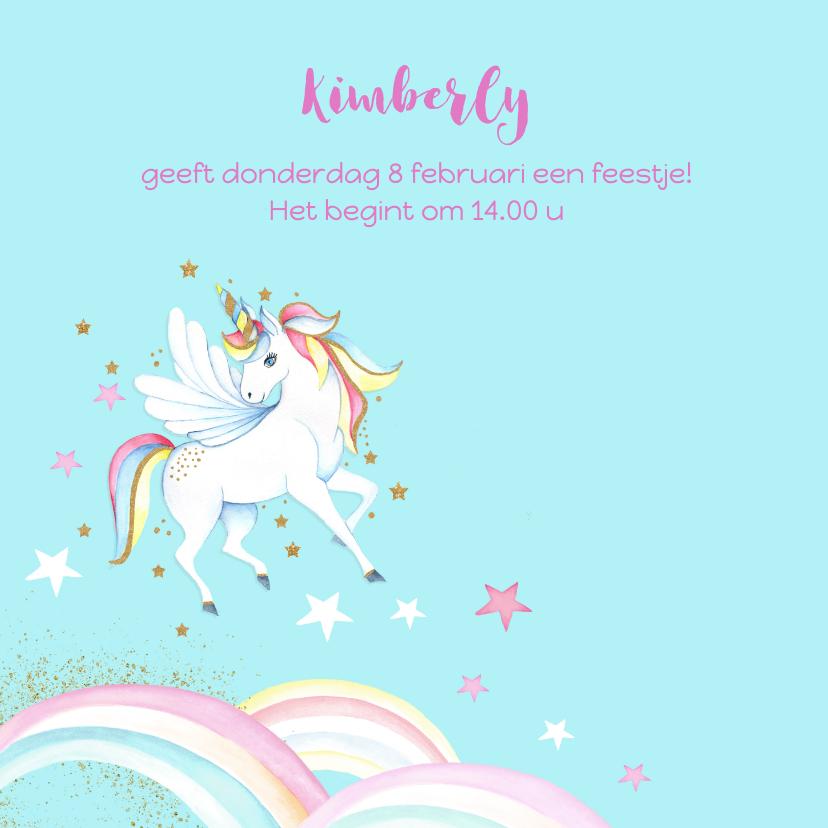 Kinderfeestje unicorn 2