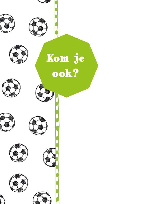Kinderfeestje voetbal en foto 2