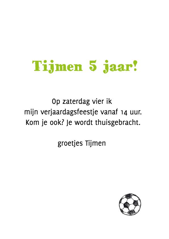 Kinderfeestje voetbal en foto 3