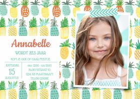 Kinderfeestjes - Kinderfeestje waterverf & ananas