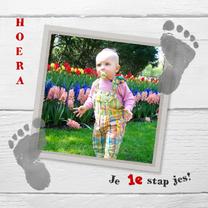 Kinderkaarten - kinderkaart 1e voetstapjes