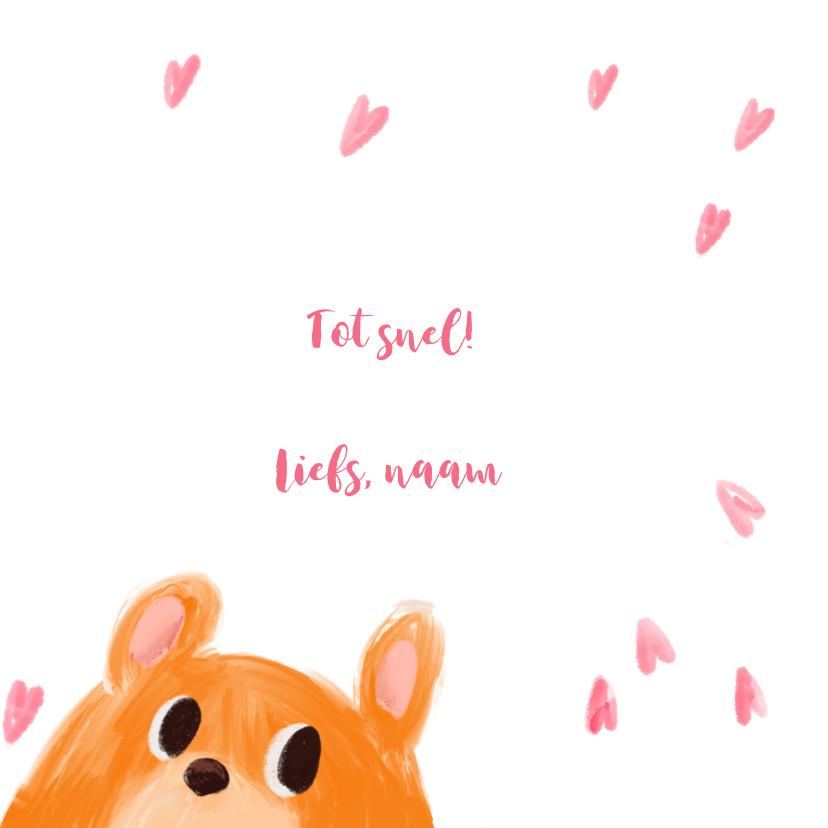 Kinderkaart hamster hartjes 3