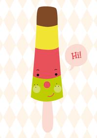 Kinderkaarten - Kinderkaart-Hi ijsje!-HK