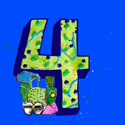 Kinderverjaardag jongen 4 jaar 2
