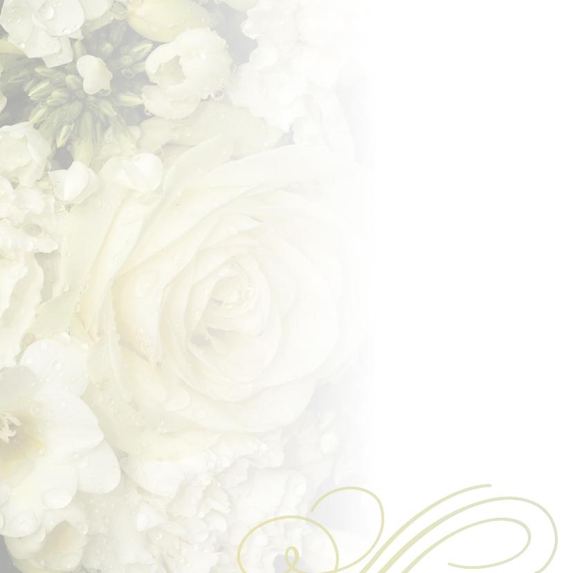 Klassiek creme aanpasbaar bloemenboeket 2