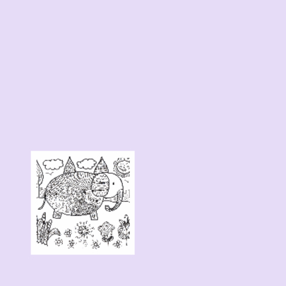 Kleurkaart olifant 2
