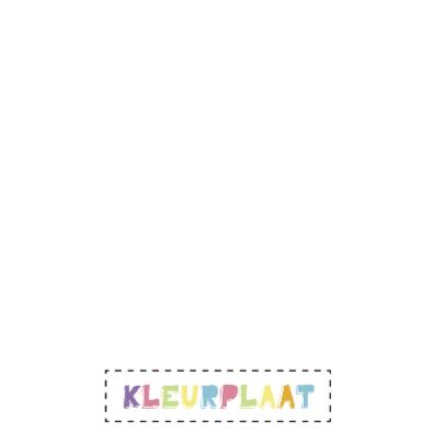 Kleurplaat-Vlinder Bloemetjes-HK 2