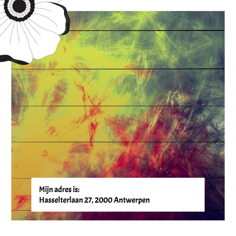 Kleurrijke Lentefeestkaart - DH 2