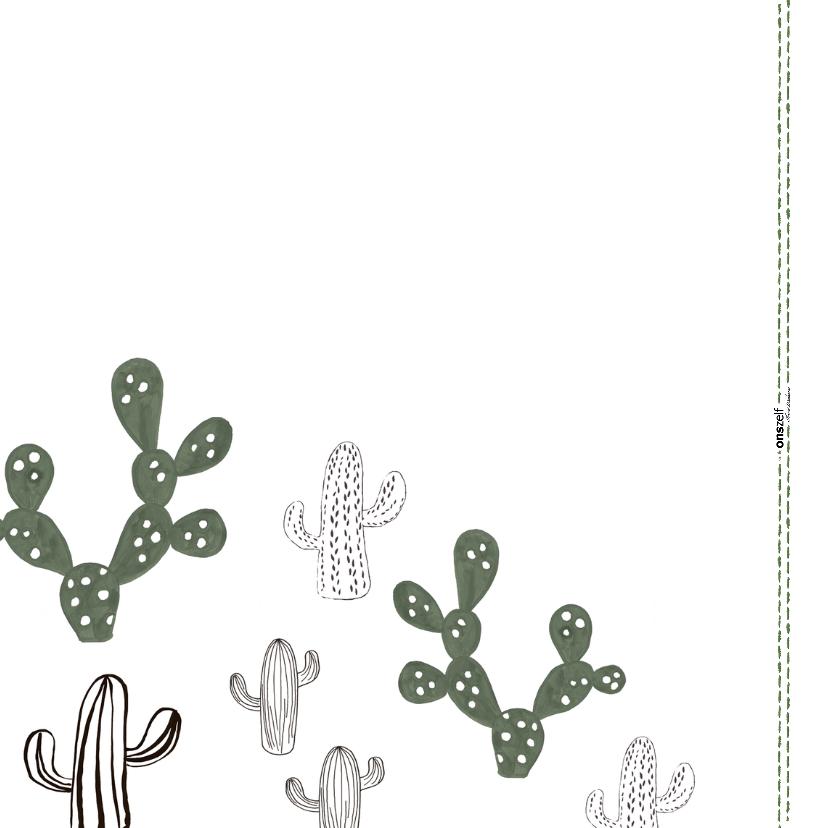 Knuffel een Cactus-kaart 'BIG HUGS!' 2