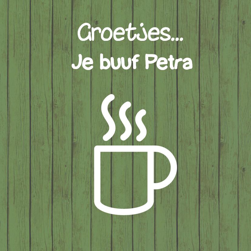 Koffie zomaarkaart -JH 3