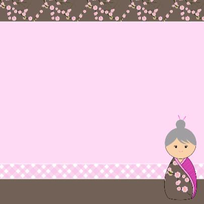 Kokeshi Oma 50 3