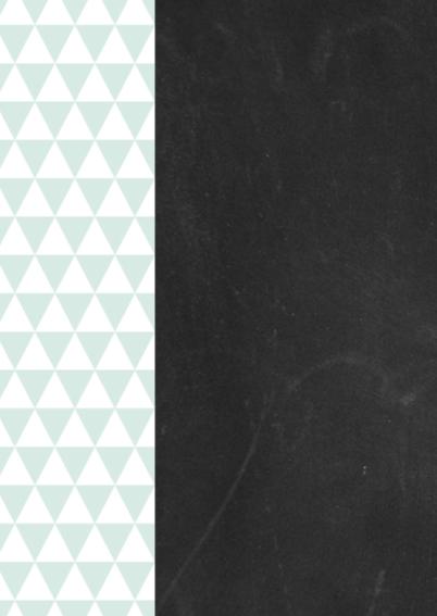 Krijtbord, driehoekjes, jongen 2