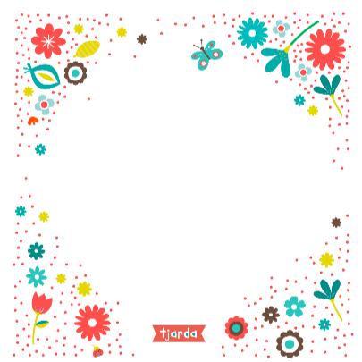 Kusje met bloemen 3