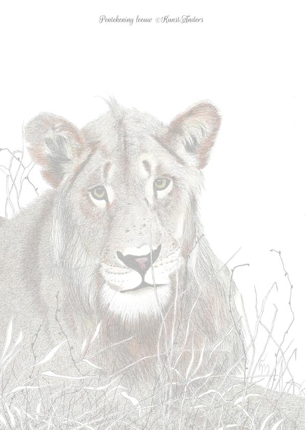 Leeuw KunstAnders 2