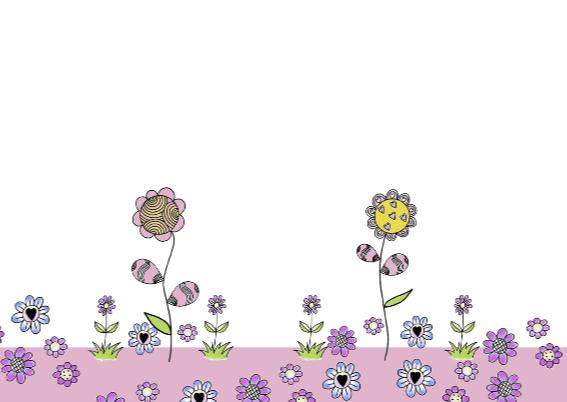 lentefeest meisje bloemen 3