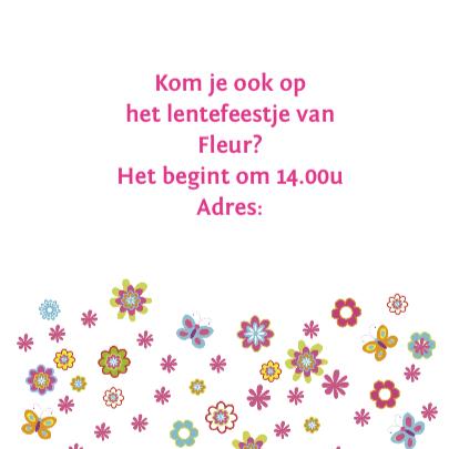 lentefeestje bloemen tekst 3