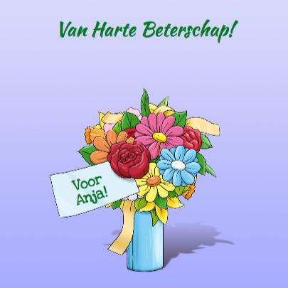 Leuk opkikkertje met hart en bloemen 3